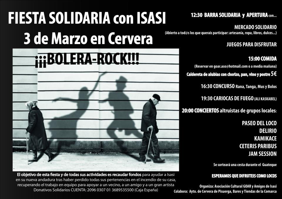 Fiesta solidaria con ISASI