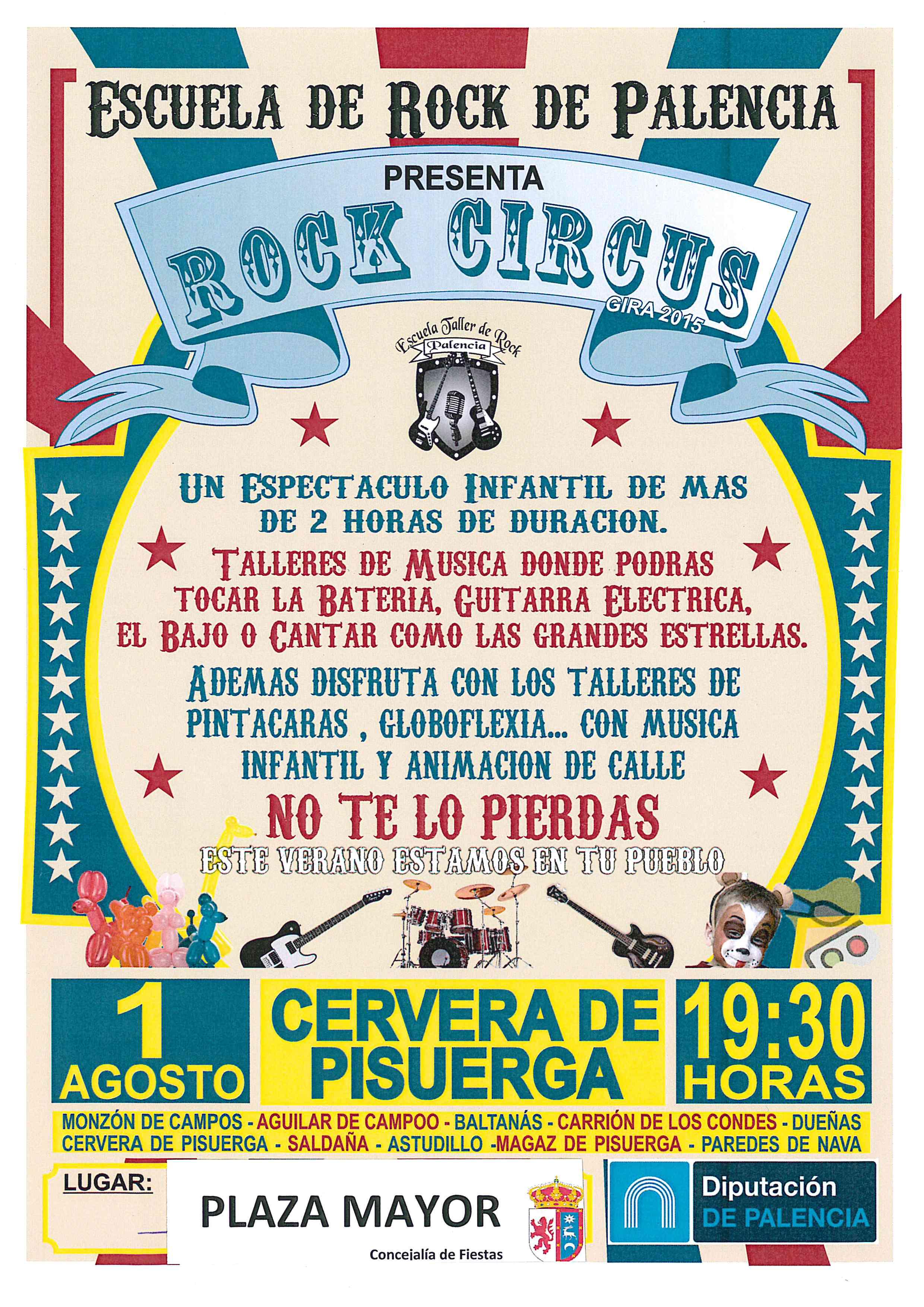 Rock Circus (Escuela de Rock de Palencia)