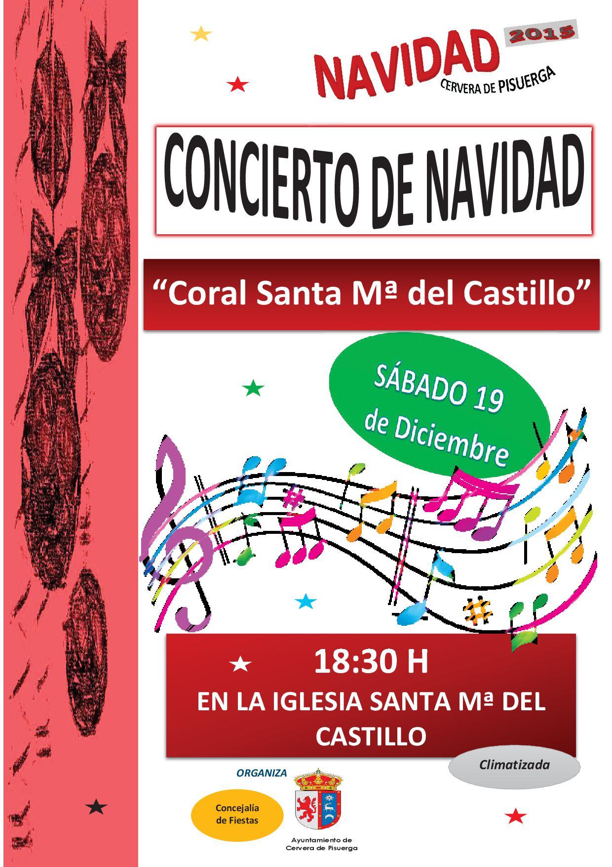 Concierto de Navidad – Coral Sta. Mª del Castillo