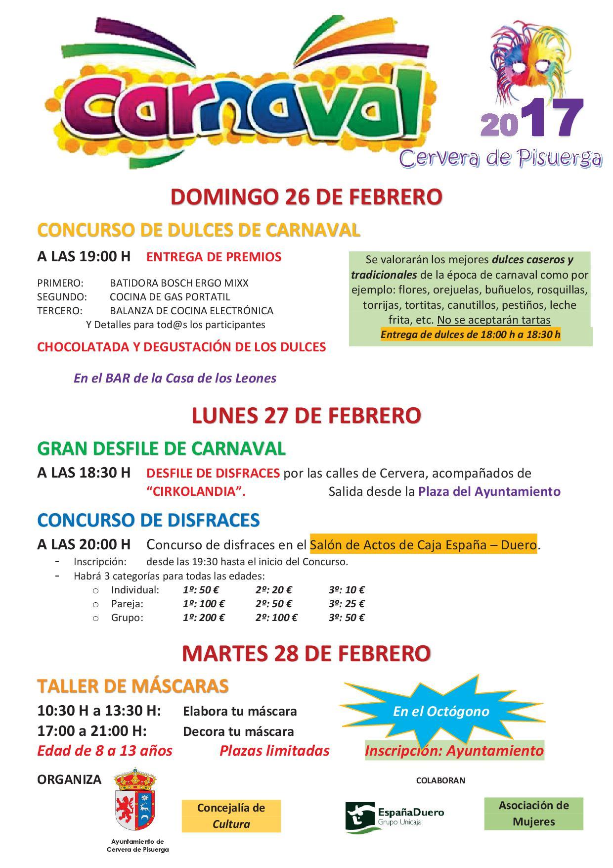 Programa de Carnaval 2017