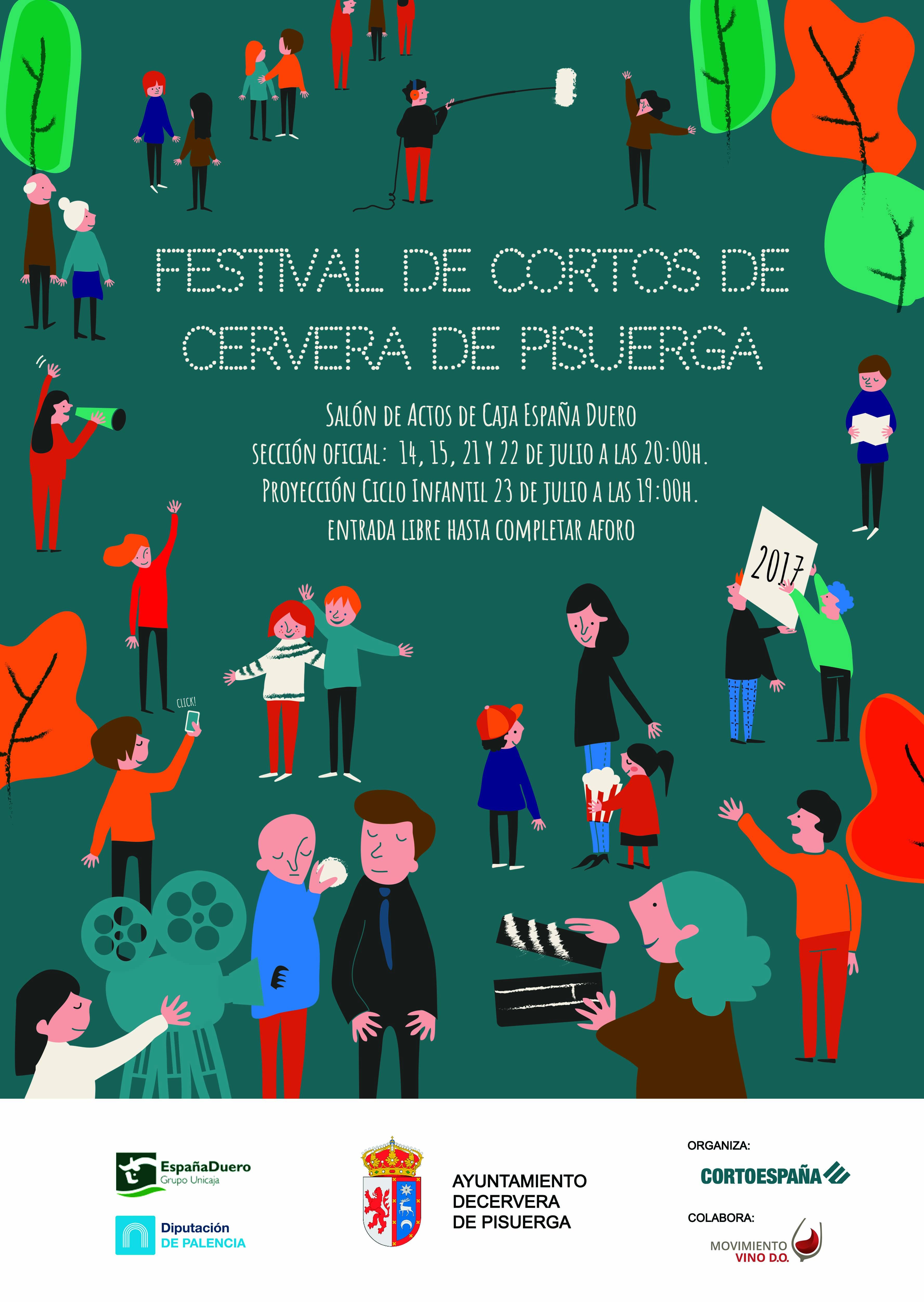 Festival de cortometrajes.
